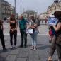 "Balade urbaine ""Au fil des façades"" Montpellier"