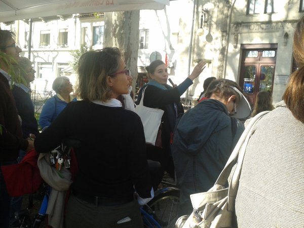 Balade urbaine : Au fil des façades