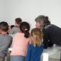 """Atelier """"Architectures, formes et volumes"""" adapté aux élèves de maternelle."""