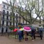 "Balade urbaine ""Au fil des façades"". Crédit photo : Mickaël Arjona / CAUE 34"