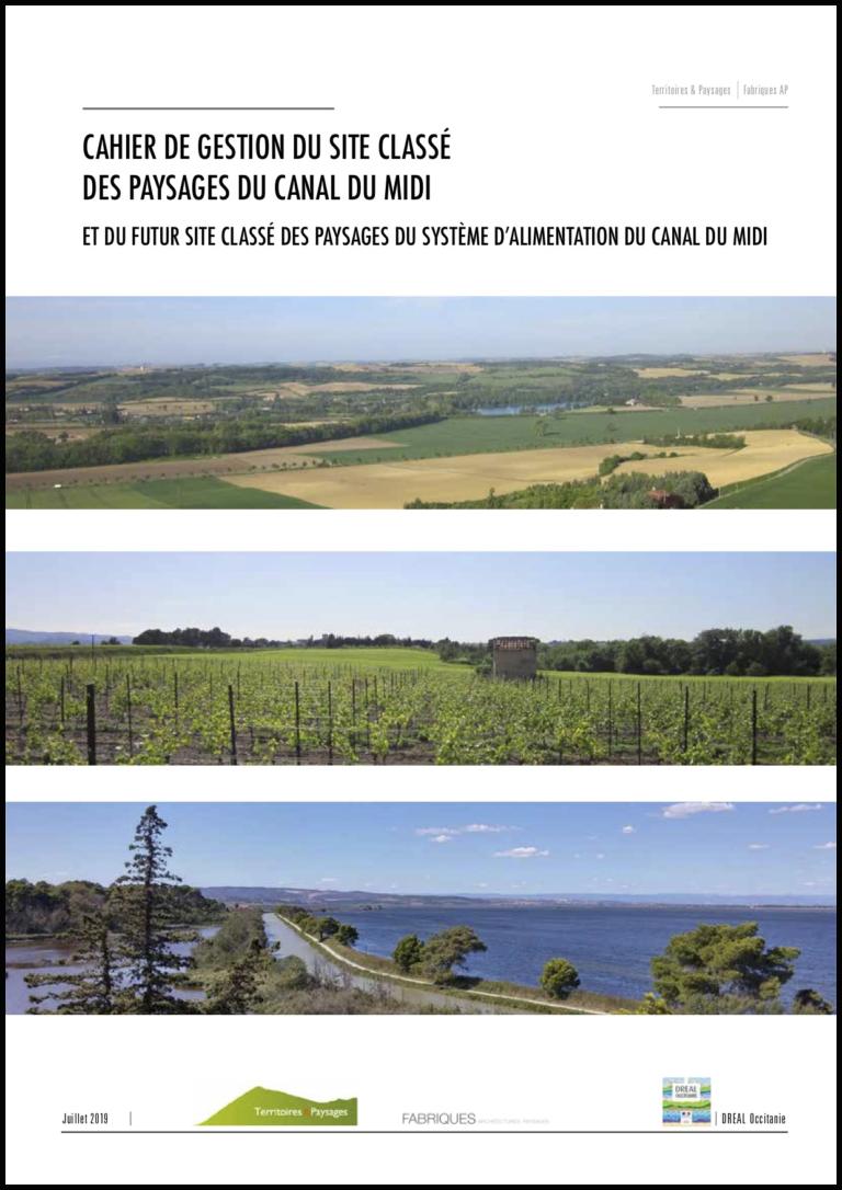 Cahier de gestion Canal du Midi / DREAL 2019