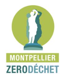 Logo Montpellier Zéro Déchet
